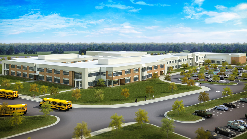 New School and Transportation Projects in Prince William